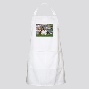 Lilies #2 / Two Shelties Apron