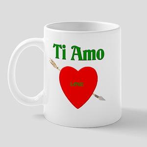 Valentine's Day Ti Amo Mug