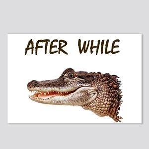 GATORS AND CROCS Postcards (Package of 8)