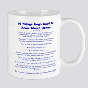 10 Things About Women Mug