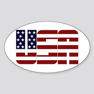 USA Sticker (Oval)