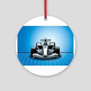 Ultimate Speed Machine - F1 Ornament (Round)