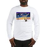 XmasSunrise/2 Shelties (dl) Long Sleeve T-Shirt
