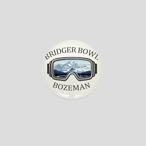Bridger Bowl - Bozeman - Montana Mini Button