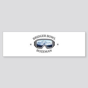Bridger Bowl - Bozeman - Montana Bumper Sticker