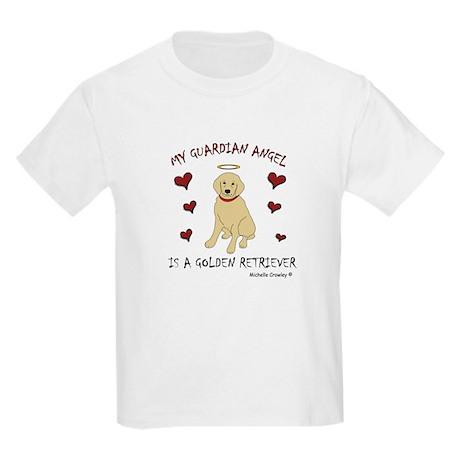 golden retriever Kids Light T-Shirt