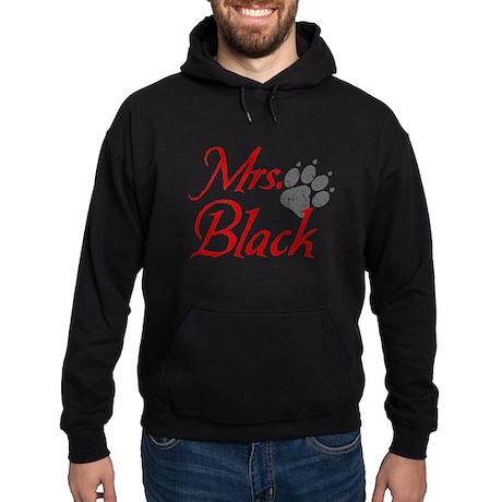 Mrs. Black - Distressed Hoodie (dark)