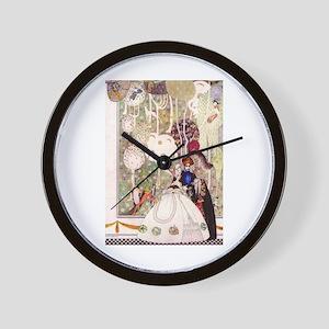 Kay Nielsen's Blue Beard Wall Clock