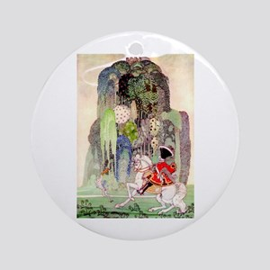 Kay Nielsen's Sleeping Beauty Ornament (Round)