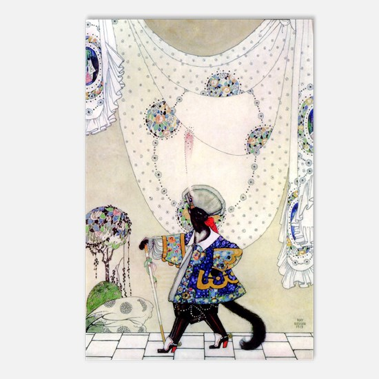 Kay Nielsen's Puss In Boots Postcards (Package of