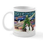 Xmas Magic / 2 Shelties (dl) Mug