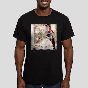Kay Nielsen's Blue Beard Men's Fitted T-Shirt (dar