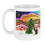 Xmas Music / 2 Shelties Mug
