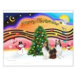 Xmas Music / 2 Shelties Small Poster
