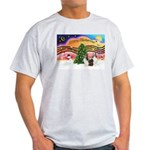 Xmas Music / 2 Shelties Light T-Shirt