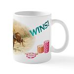 DONKEY WINS! Poker Player's Mug