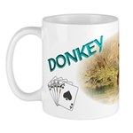 DONKEY WINS! Poker Player's Mug