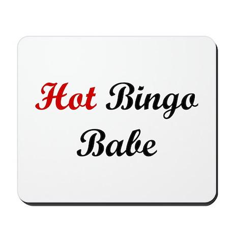 Hot Bingo Babe Mousepad