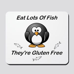 Eat Lots Of Fish Mousepad