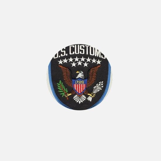 United States Customs Mini Button (10 pack)