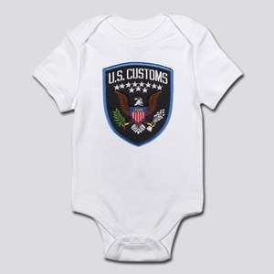 United States Customs Infant Bodysuit