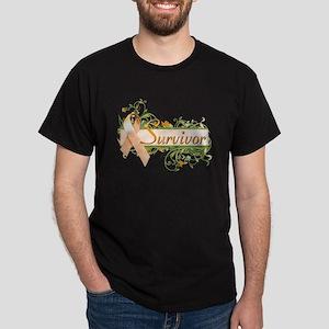 Survivor Floral Dark T-Shirt