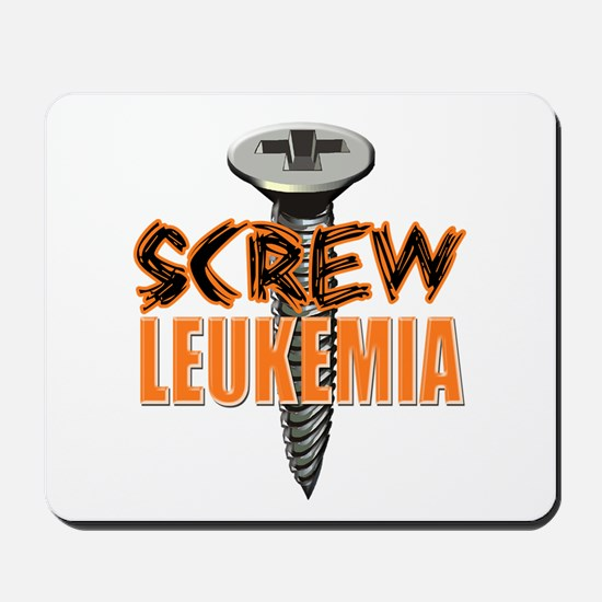 Screw Leukemia Mousepad