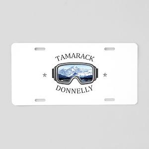 Tamarack - Donnelly - Ida Aluminum License Plate