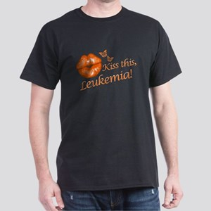 Kiss this, Leukemia! Dark T-Shirt