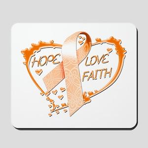Hope Love Faith Mousepad