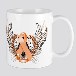 Awareness Tribal Orange Mug