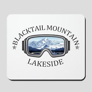 Blacktail Mountain - Lakeside - Montan Mousepad