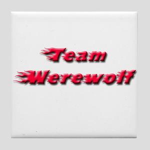 Team Werewolf Tile Coaster