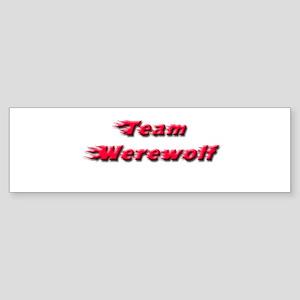 Team Werewolf Sticker (Bumper)