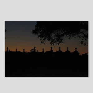 New Orleans Cemetary at Sunset Postcards (Package