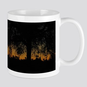 New Orleans Cemetary Sunset Mug