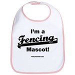 Fencing Mascot Bib