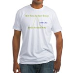 Above Average Fitted T-Shirt