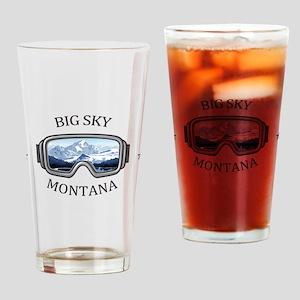 Big Sky - Big Sky - Montana Drinking Glass