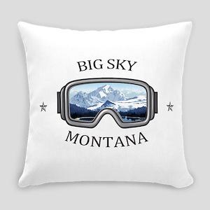 Big Sky - Big Sky - Montana Everyday Pillow