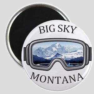 Big Sky - Big Sky - Montana Magnets