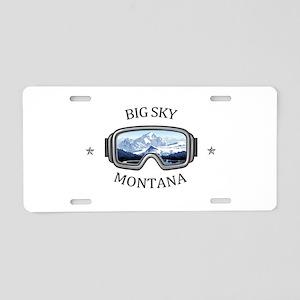 Big Sky - Big Sky - Monta Aluminum License Plate