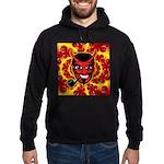 Devil-Bob Mandala Hoodie (dark)