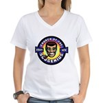 14 X-Day Good/Evil Women's V-Neck T-Shirt