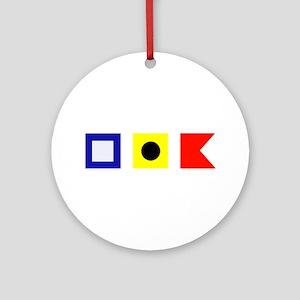 Put-in-Bay Ornament (Round)