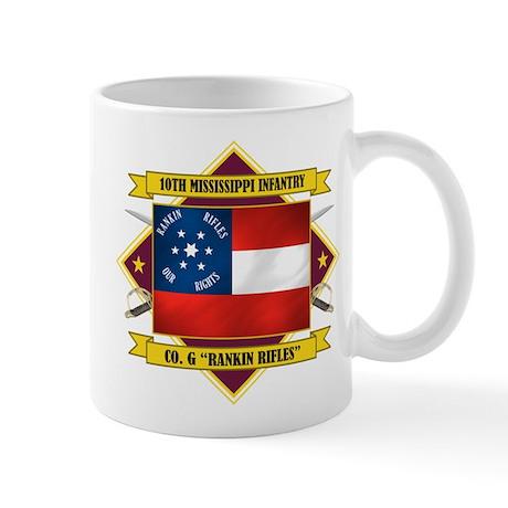 10th Mississippi -Rankin Rifl Mug
