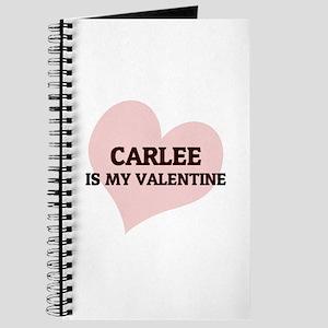 Carlee Is My Valentine Journal