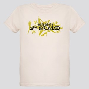 ROCK SNOT OUT - 5TH GRADE Organic Kids T-Shirt