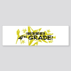 ROCK SNOT OUT - 4TH GRADE Sticker (Bumper)