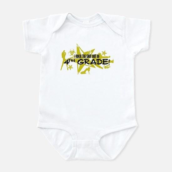 ROCK SNOT OUT - 4TH GRADE Infant Bodysuit